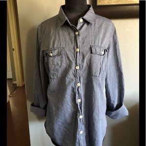 JCrew the perfect shirt sz lrg